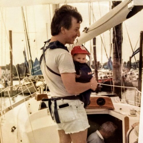 Baby Captain Boomies with her Dad!!